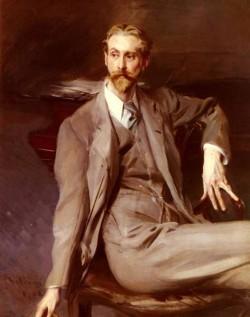 Portrait Of The Artist Lawrence Alexander Harrison