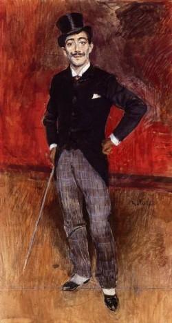 Portrait of the Comte de Rasty