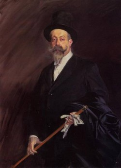Portrait of Willy The Writer Henri Gauthier Villars