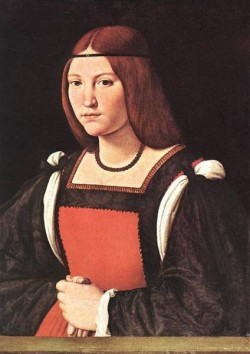 Portrait of a Young Woman MLN