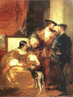 Francis I and the Duchess of Etampes