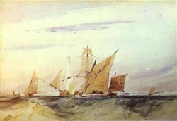 Shipping Off the Coast of Kent 1825