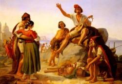 A Neapolitan Story Teller