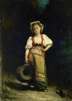 Italian Girl with a Jug