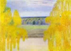 autumn song 1905 XX the tretyakov gallery moscow russia