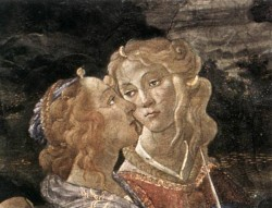 Botticelli The Temptation of Christ detail 7