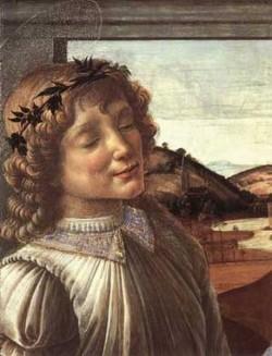madonna and child with an angel detail c1470 XX isabella stewart gardner museum boston