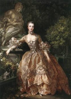 Portrait of Marquise de Pompadour WGA