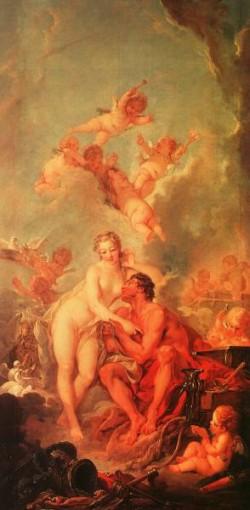 The Visit of Venus to Vulcan CGF