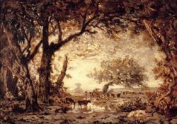 Edge of the Forest of Fontainebleau 1848 1850
