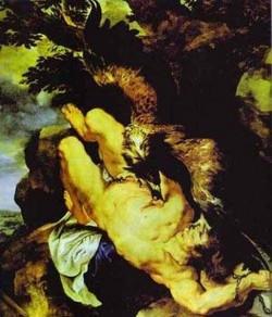 chained prometheus 1611 1612 XX philadelphia pa usa