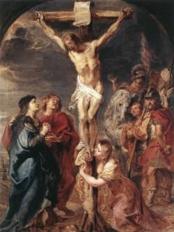 Rubens Christ on the Cross 1627