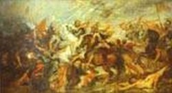 henry IV at the battle of ivry 1627 1630 XX florence italy