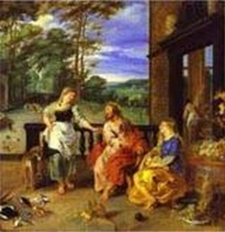 jan bruegel the younger and peter paul rubens christ in the house of martha and mary 1628 XX dublin ireland