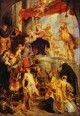 madonna and child enthroned with saints 1627 1628 XX berlin germany