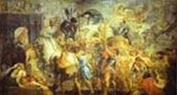 the triumph entrance of henry IV into paris 1627 1630 XX florence italy