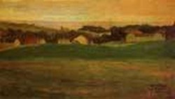 Meadow with Village in Background II 1907