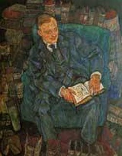 Portrait of Dr Hugo Koller 1918