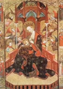 Madonna And Child With Angels Playing Music