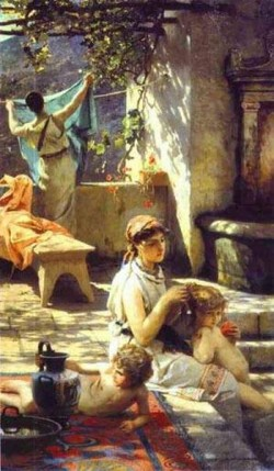 by a pool 1895 XX art museum saratov russia