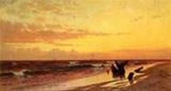 Seascape at Sunset 1874