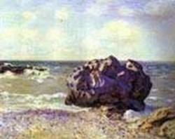langland bay storrs rock morning 1897 XX kunstmuseum bern switzerland