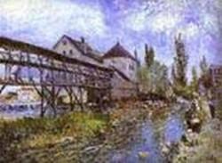 provenchers mill at moret 1883 XX museum boymans van beuningen rotterdam netherlands