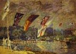 regatta at hampton court detail 1874 XX zurich switzerland