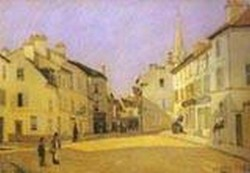 square in argenteuil rue de la chaussee 1872 XX musee dorsay paris france