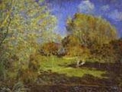 the garden of hoschede montgeron 1881 XX the pushkin museum of fine arts moscow russia
