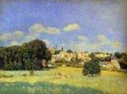 view of marly le roi sunshine formerly view of st cloud 1876 XX art gallery of ontario toronto canada