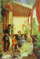 self portrait with the family on the balcony 1851 XX the russian museum st petersburg russia