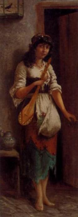 An Italian Street Musician