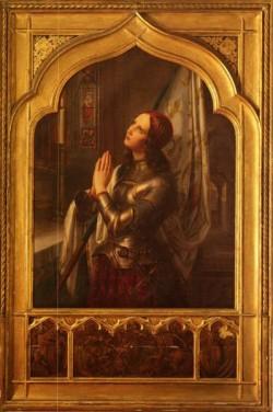 Joan Of Arc In Prayer