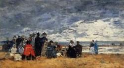Beach Scene1 1869