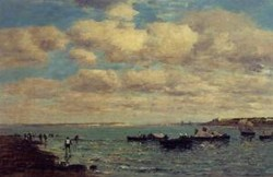Camaret Fishermen and Boats1 1869