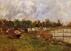 Cows in the Meadow 1888 1895