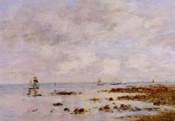 Low Tide at Saint Vaast la Hougue 1890