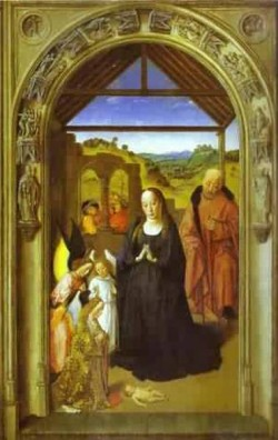 The adoration of the angels 1445 xx museo del prado madrid spain