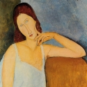 Portrait of Jeanne Hebuterne, 1918, Amedeo Modigliani