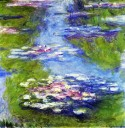 Waterlilies (1907), Claude Monet