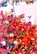Field of Flowers (1910) Egon Schiele