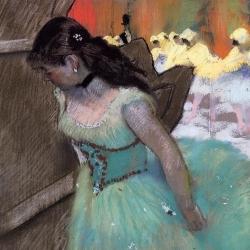 The entrance of the masked dancers, circa 1879-1882 , Edgar Degas