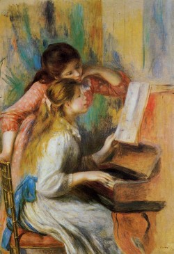 Girls at the piano 1892 xx musee dorsay paris
