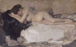 Lying Naked Lady