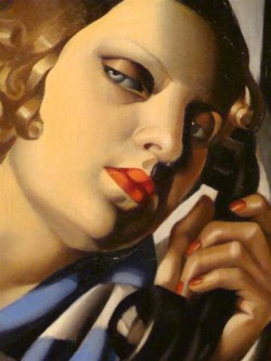 The Telephone, 1930, Tamara de Lempicka
