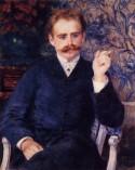 Albert Cahen D'Anvers, 1881, Pierre Auguste Renoir