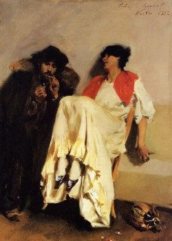The Sulphur Match, 1882, John Singer Sargent