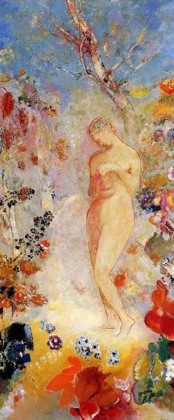 Pandora 1914, Odilon Redon