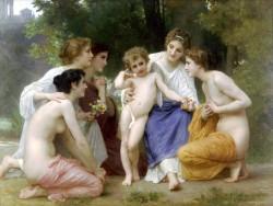 Admiration William Bouguereau - 1897